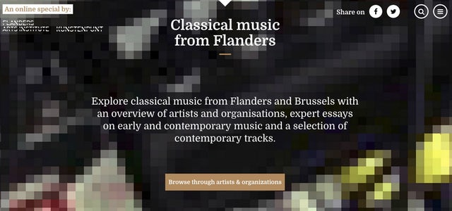 Classical music from Flanders