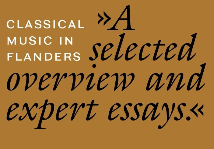 Classical music in Flanders